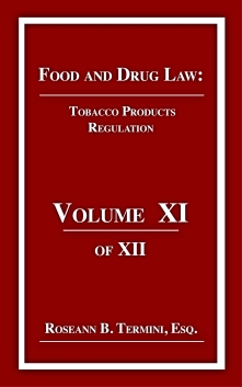 Cost $20.00 TOBACCO PRODUCTS REGULATION focuses on the why of the Family Smoking Prevention and Tobacco Control Act and how tobacco products regulated by the United Stated Food and Drug Administration. First Amendment issues and warnings are include.