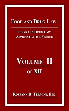 Cost $20.00 ADMINISTRATIVE PRIMER focuses on the United States Food and Drug Administration's administrative law process with practical illustrations from the Federal Register and Code of Federal Regulations. Freedom of Information Act are covered.