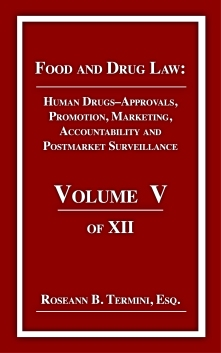 Cost $40.00 HUMAN DRUG REGULATION focuses on the drug approval processes for generic and brand drugs, advertising, First Amendment, duty to warn, enforcement and Supreme Court decisions and their impact on pharmaceutical regulatory law.