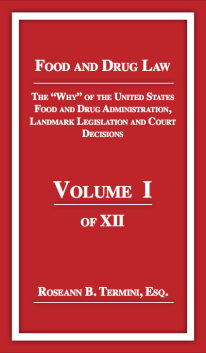 - Cost $28.85 LANDMARK LEGISLATION focuses on milestone food and drug law legislation. This volume contains significant United States Supreme Court decisions which impact on this highly regulated industry. Key government agencies are included.